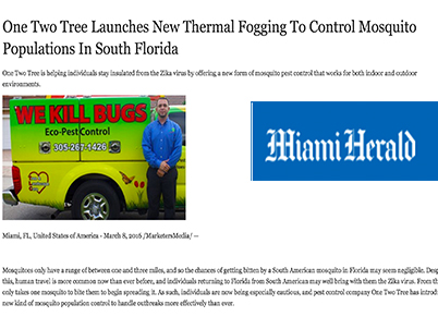 one two tree miami article about mosquito control