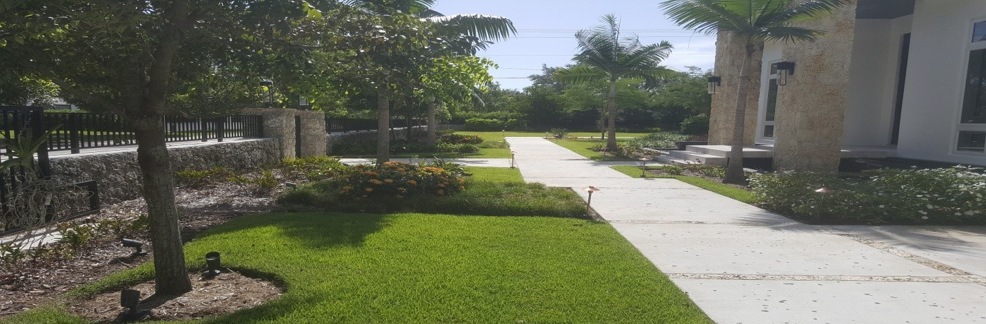 Lawn of the week winner in East Kendall Miami Florida