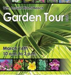 "Winner of ""The Miami Beach Garden Tour"""