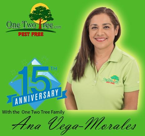 Congratulations Ana Vega-Morales!